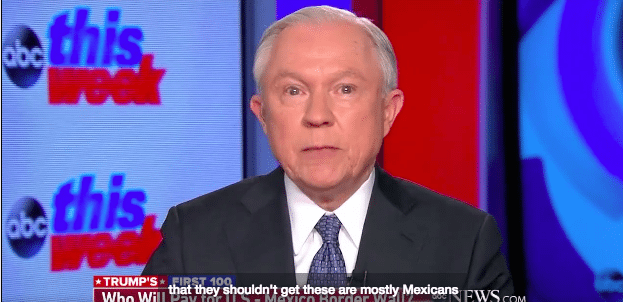 Jeff Sessions Went on TV This Sunday & Suggested Mexicans Are Stealing $4 Billion From US Each Year