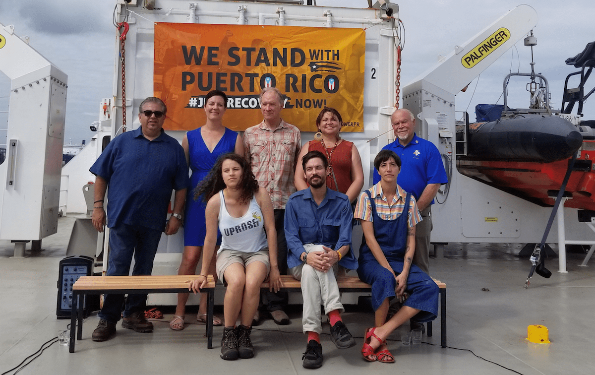 Our Power PR Campaign Arrives in Puerto Rico to Join Just Recovery Efforts and Assess Impact of Jones Act