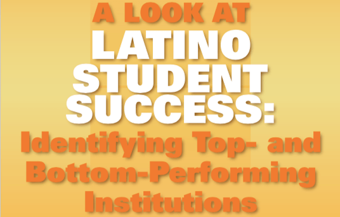 REPORT: Closing the Latino-White Completion Gap in Higher Education