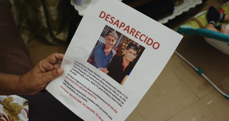 Tarde y sin recursos: la Policía hace poco por los desaparecidos de María