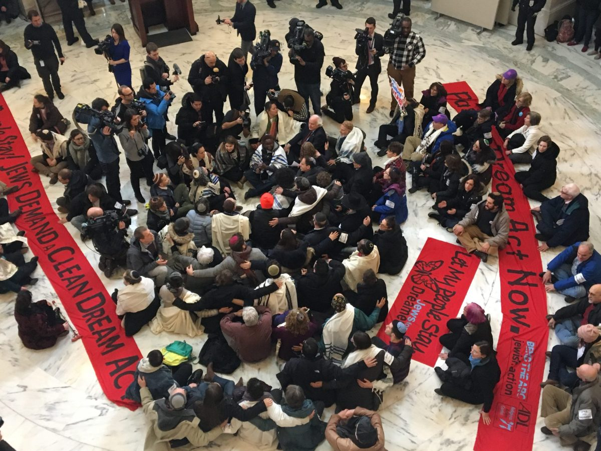 VIDEO: 86 Rabbis, Jewish Activists Arrested Demanding DREAM Act in Congress