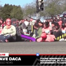 DACA Rally in DC Leads to Acts of Civil Disobedience and Arrests (LIVE VIDEO)