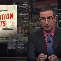Yes, LAST WEEK TONIGHT WITH JOHN OLIVER Focused on Immigration Courts and It Was Spot On