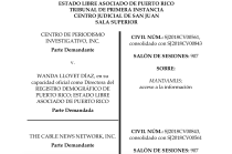 Judge Orders Puerto Rican Government to Release Hurricane María Death Information to CPI and CNN
