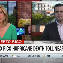 "Rosselló Goes on CNN Twice to Address Puerto Rico Hurricane María Death Count and Says ""There Will Be Hell to Pay'"
