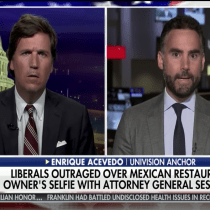 This Tucker Carlson-Enrique Acevedo Fox News Exchange Ended With a Conversation About Tacos?