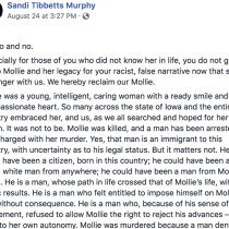 Mollie Tibbetts' Cousin Slams Trump's Xenophobia About Murder