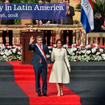 Mario Abdo Benítez Is Sworn in as Paraguay's New President
