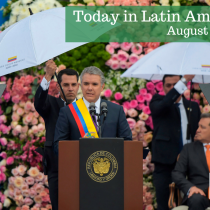 New Colombian President Iván Duque Takes Office Amid Polarization