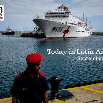 Chinese Naval Medical Ship Docks in Venezuela