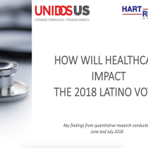 UnidosUS: New Poll Identifies Health Care as a Top Issue for Latino Voters