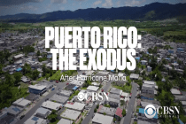 Watch CBS News' Full PUERTO RICO: THE EXODUS AFTER HURRICANE MARIA Documentary