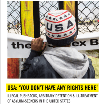 'You Don't Have Any Rights Here:' New Amnesty International Report on Family Separations at US-Mexico Border