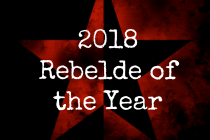 Vote for the 2018 Rebelde of the Year