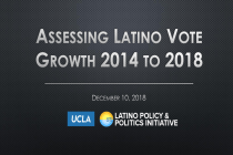 New UCLA Study Finds 96% Growth in Latino Vote Across 8 States