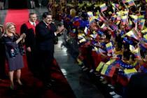 Venezuela's Maduro Celebrates 2nd Term as Crisis Deepens