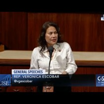 Rep. Veronica Escobar Gives Her First US House Speech: 'I Am a Proud Fronteriza'