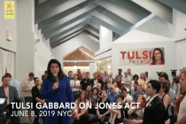 Democratic Presidential Candidate Tulsi Gabbard Says She Supports Jones Act, But Admits She Doesn't Know How It Impacts Puerto Rico