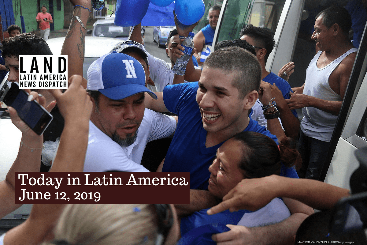 Nicaraguan Amnesty Law Frees 106 Political Prisoners In 48 Hours