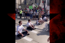 Protesters Block Windsor Tunnel During Debate to Demand #DignityNotDeportation