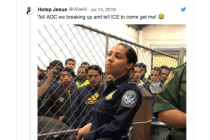 Latina CBP Agent Goes Viral With Hashtag #IceBae and Yeah, It's Not Okay
