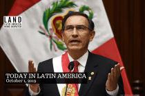 Peru's President Vizcarra Dissolves Congress After Controversial Vote
