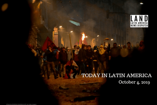 Ecuador Declares State of Emergency Amid Protests Against Rising Fuel Costs