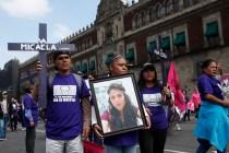 Demonstrators Demand Halt to Killings of Women in Mexico