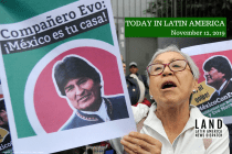 Mexico Grants Evo Morales Asylum, Says Bolivia Suffered Coup