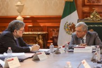 Mexico President Hosts US AG Behind Closed Doors in Capital