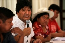 Morales Names His Candidate for Bolivia Presidential Vote