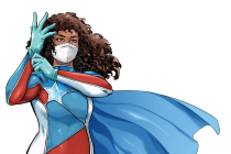 Comic Book Superhero 'La Borinqueña' Is the Face of Crowdfunding N95 Masks for Frontline COVID-19 Workers