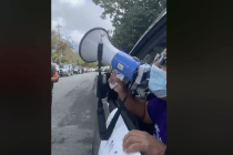 A Drive-Through Protest Demanding for More COVID-19 Tests Happened Wednesday Morning in Puerto Rico