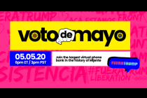 Mijente Says 3rd Annual 'Voto de Mayo' Was Largest Single Day Virtual Voter Mobilization