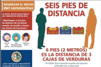 County Official Apologizes for Offensive Spanish-Language Social Distancing Poster
