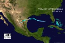 Hurricane Hanna Batters US-Mexico Border Amid COVID-19 Crisis