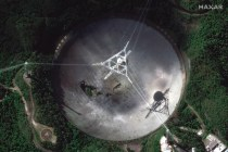 Huge Puerto Rico Radio Telescope, Already Damaged, Collapses