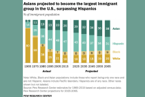 PEW: Asian Americans Will Be Country's Largest Immigrant Group by 2055
