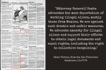 The 1974 Letter to the Editor Where César Chávez and the UFW Promoted Amnesty and Legal Residency for Undocumented Workers