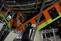 23 Dead as Mexico City Metro Overpass Collapses Onto Road