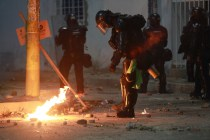 Rights Group: Colombian Police Cause Deaths of 20 Protesters
