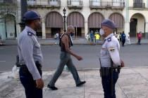 Police Patrol Havana in Large Numbers After Demonstrations