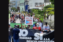 The Latest 'No to Statehood' March Happened This Past Sunday in San Juan