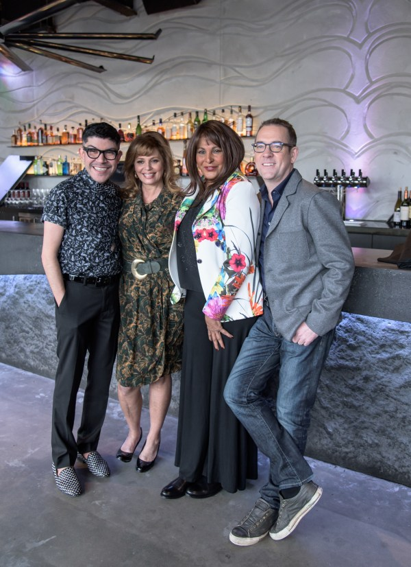 L to R: Mondo Guerra, Daisy Martinez, Pam Greer, and Ted Allen