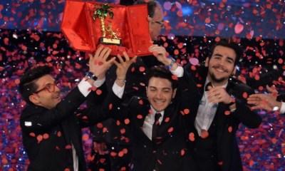Il Volo levanta o trofeu de Sanremo