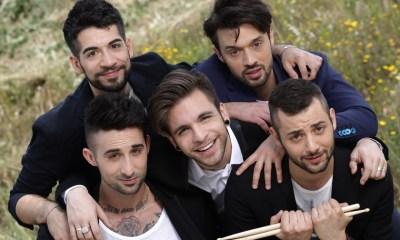 A boyband italiana Dear Jack ficou em sétimo lugar no Festival de Sanremo 2015