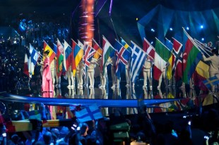 Eurovision bandeiras