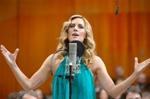 Edurne grava versão sinfônica de sua canção para o Eurovision: Amanecer