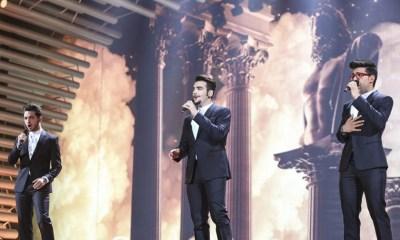 Il Volo na final do Eurovision