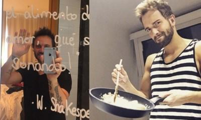 Os melhores posts no Instagram das estrelas da música espanhola e da música italiana, como Nek e Pablo Alborán